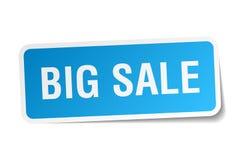 Big sale sticker. Big sale square sticker isolated on white background. big sale Stock Photo