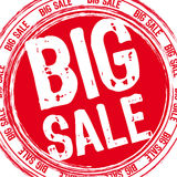 Big sale stamp Stock Images