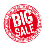 Big sale stamp Royalty Free Stock Photo