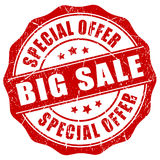 Big sale stamp Stock Photo