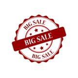 Big sale stamp illustration. Big sale red stamp seal stamp illustration Royalty Free Stock Photography