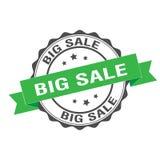 Big sale stamp illustration. Big sale stamp seal illustration design Royalty Free Stock Image