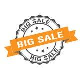 Big sale stamp illustration. Big sale stamp seal illustration design Stock Photography