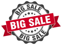 Big sale stamp. Sign. seal Royalty Free Stock Photos