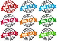 Big sale stamp. sign. seal. Big sale stamp set. sign. seal Stock Photography