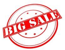Big sale. Stamp with text big sale inside,  illustration Stock Photo