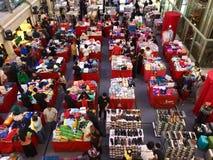 Big sale. At Sun plaza shopping center atrium in Medan, Indonesia Royalty Free Stock Photo