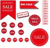 BIG SALE. SUPER SALE. MEGA SALE. Stock Photography