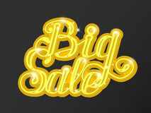 Big sale in supermarket. concept of e-shopping. Stock Images