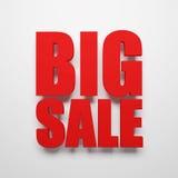 Big sale symbol Royalty Free Stock Photo