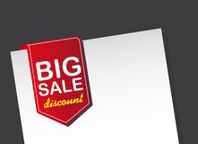 Big sale tag Stock Photos