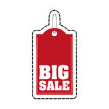 Big sale tag Royalty Free Stock Image