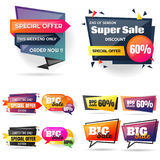 Big sale template banner Vector background Stock Image