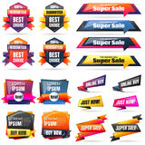 Big sale template banner Vector background Royalty Free Stock Image