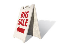 Big Sale Tent Sign Royalty Free Stock Image