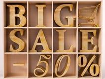 Big Sale text Stock Photos