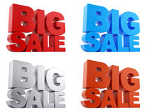 Big Sale text Stock Images
