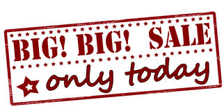 Big sale only today Royalty Free Stock Images