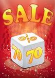 Big sale vector. Big sale discount vector in eps Royalty Free Stock Photos