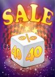 Big sale vector. Eps vector bis sale template promotion Stock Photos