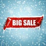 Big sale vector banner. Stock Photo