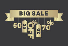 Big sale vector Stock Photo