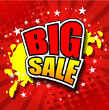 Big Sale Vector illustrator EPS 10 Royalty Free Stock Photography