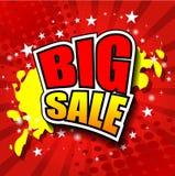 Big Sale Vector illustrator EPS 10 Royalty Free Stock Photography