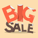 Big Sale Vector Labels Stock Image