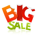 Big Sale Vector Sticker - Label Royalty Free Stock Images