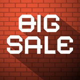 Big Sale Vector Title Stock Photo