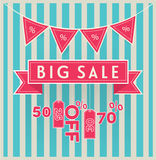 Big sale vector Royalty Free Stock Photography