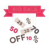 Big sale vector Stock Images