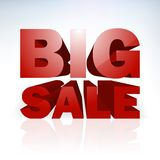 Big sale word template. EPS 10 Stock Image