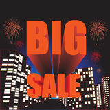 BIG SALE! wording, vector format Stock Photos