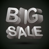 Big sale. Royalty Free Stock Images