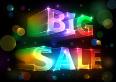 Big sale. For your design Stock Photo