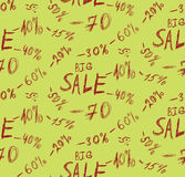 Big sales background Royalty Free Stock Images