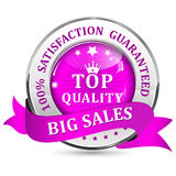 Big Sales. Satisfaction guaranteed. Top Quality Royalty Free Stock Photos