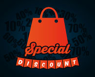 Big sales and special offers shopping Stock Photo