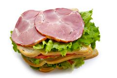 Big sandwich Royalty Free Stock Photo