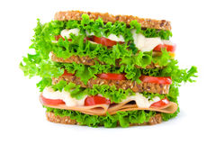 Big sandwich Stock Photo
