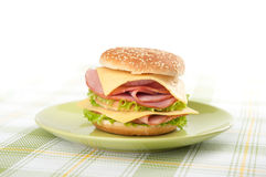 Big sandwich Stock Image