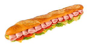 Big sandwich Stock Images