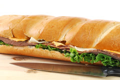 Big Sandwich Royalty Free Stock Photos