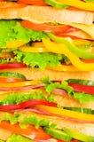 Big sandwich Royalty Free Stock Photo