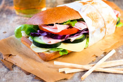 Big sandwich Royalty Free Stock Photography