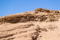 Big sandy hill or barkhan Royalty Free Stock Images