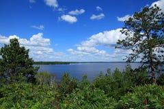 Big Sandy. Lake Highway 65 Minnesota stock photos