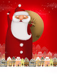 Big Santa Stock Image